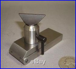 Levin Tip Over Tool Rest for Watchmakers Lathe, New Old Stock