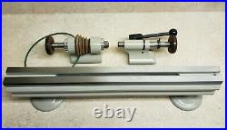 Levin watchmakers jewelers instrument lathe 10mm collets type D R&P tailstock