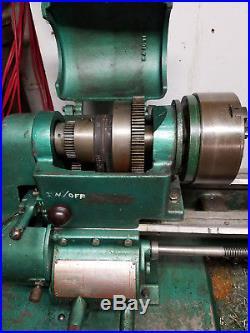Logan Lathe Powermatic Model 1955th Thread Cutting With