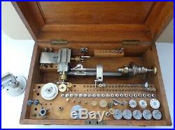 Lorch 6mm Uhrmacherdrehbank watchmakers lathe