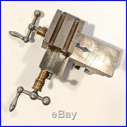 Lorch watchmakers lathe cross slide