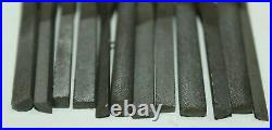 Lot of MACHINIST LATHE MILL Nicholson Die Filer Files for Bench Top File Machine