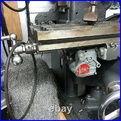 MACHINIST TOOL LATHE Machinist Vintage Atlas MF Mill Milling Machine InVs
