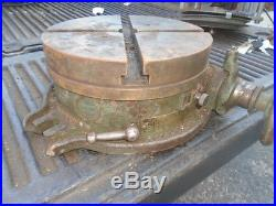 MACHINIST TOOLS LATHE MILL Brown & Sharpe 10 Rotary Table