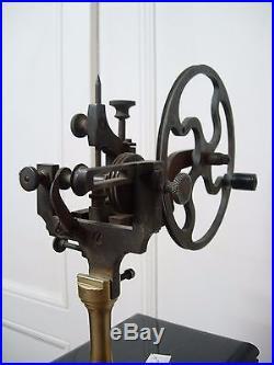 Machine a arrondir horloger tour watchmaker tools lathe vintage