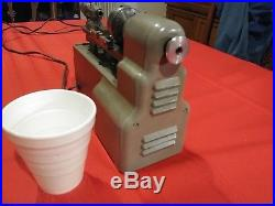 ManSon 40's Mini metal lathe, Steam engine, Hit Miss, very rare and collectible