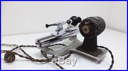 Marshall Peerless Watch Maker Craft Lathe Borel Base Vigor Motor Jewelers Tool
