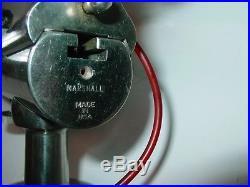 Marshall Watchmaker Lathe Ball Bearing Headstock Collet Tailstock & Cross Slide