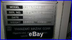 Mazak Integrex 35 Live Tooling Cnc Lathe Km 63 Tooling