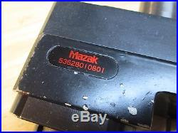Mazak Live Tool Holder SQT15-18 Nexus 200/250 Quick Turn 53628010801 NICE