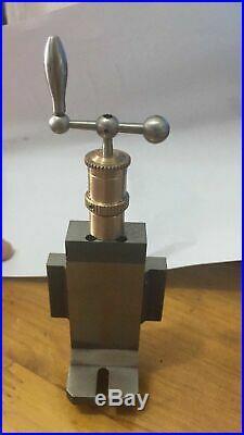 Milling attachment for watchmaker lathe-Höhensupport für Uhrmacherdrehbank