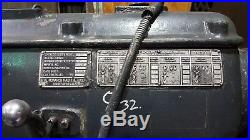 Monarch Lathe 32NN heavy duty 60 x 108 with steady rest, tooling, 4 jaw chuck