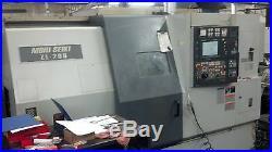 Mori Seiki ZL200 SMC CNC Lathe, Sub Spindle, Live Tooling Video New 2002