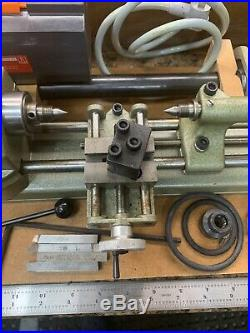 OUTSTANDING! American Edestaal Unimat SL1000 Lathe Mill with Box & Tools