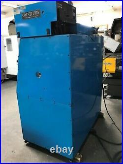 Omni Turn GT-75 Series II Gang Tool Lathe, Flood Coolant System, Slant Bed
