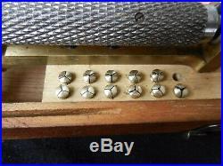 Original Boley Screwhead polishing machine, watchmakers lathe
