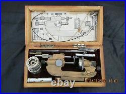 Outil horloger Lerrac tour a pivoter replanter watchmakers lathe uhrmacher jacot