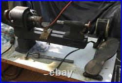 Pennant Precision Watch Maker Or Jeweler's Metal Lathe With 8mm Collets & Chuck