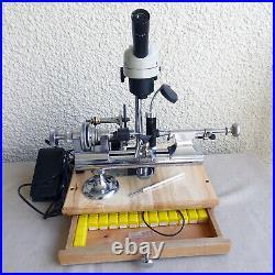 Perton USA Watchmaker's Ww 8 MM Lathe