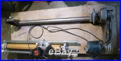 Power Tools Combo Sears Craftsman Router Crafter & 12 Wood Lathe, Mounted