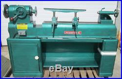Powermatic 90 12 Wood / Metal Lathe withLots of Tooling & VFD Installed (100935)