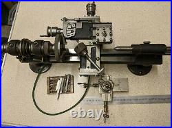 Pultra WW watchmakers precision lathe beautiful condition