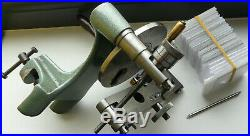 RARE Watchmakers glass cutter lathe