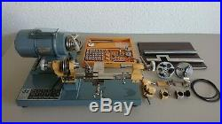 Rare! A ZDZ Krakow 8mm Watchmaker Lathe Wonderful Condition Bergeon Vector Boley