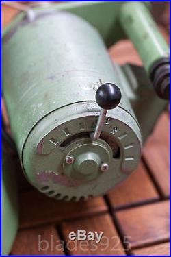 Rare Boley Leinen watchmakers WW83 high quality precision optical lathe