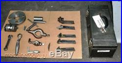 SOUTH BEND ENGINE LATHE 13 x 40 with 9 3-JAW CHUCK, TOOL POST, HOLDERS & MORE