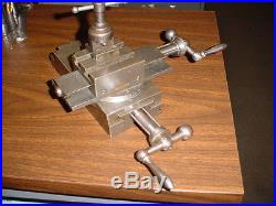 STARK TOOL Precision Lathe Compound Slide 3.5 x 4 travels Jewelers USA Vintage