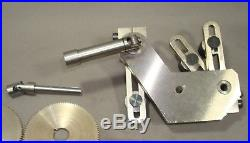 Screw Cutting Attachment for Levin Watchmaker Lathe w 8mm Cone bearing headstock