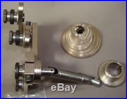 Screw Cutting Attachment for Levin Watchmaker Lathes with ball bearing headstock