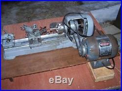 Sears Craftsman 109 Metal Lathe Hobby Gunsmith Complete Tooling Nice FREE SHIP