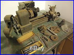 Sears craftsman metal lathe 6 by 12 inch with tooling