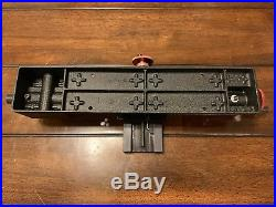 Sherline 4100 Metric 3.5 x 8 Metal Wood Watchmaker Lathe Bed & Cross Slide