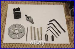 Sherline 4400 lathe with CNC upgrade, stepper motors