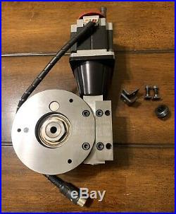 Sherline 8730 CNC Mill Lathe Precision Rotary Table with Stepper Motor