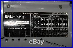South Bend 10 x 32 Tool Room Lathe Newall DP7 X/Y DRO 1.5 Thru Hole
