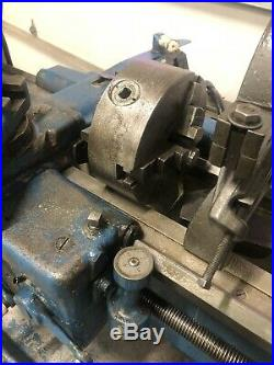 South Bend 16x36 Metal Lathe Gunsmith 3 & 4 Jaw Taper Steady Rest Tooling 1ph
