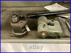 South Bend Lathe In Great Working Condition with tooling 220 SINGLE PHASE
