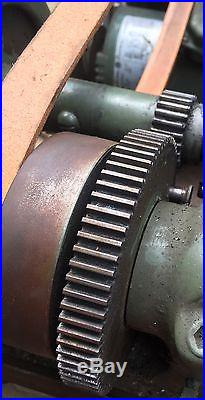 South Bend Metal Lathe 9 Model C Machinist Tool Thread Cutting Bench Top 36 Bed