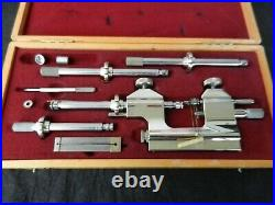 Steiner Hahn Tool Watchmakers Lathe with cable pull complete and perfect condion
