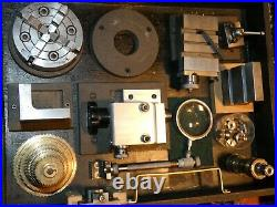 Stunning Watchmakers Lathe Live Steam Coletts Chucks Metric Imperial Ba Model