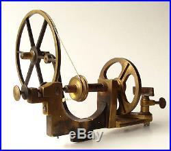 Super J & T Jones, Prescot. Brass Antique Watchmakers Lathe C1880