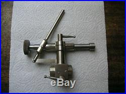 Swiss Drilling Lever Tailstock for 8mm Watchmakers Lathe