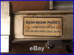 Taig Micro Mini Machinist Watchmaker Lathe II 2 Model 4500 Made in USA