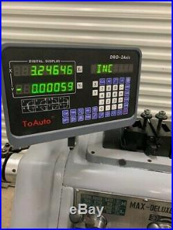 Takisawa TSL 1000 Engine Lathe With DRO & New Dorian Tool Post/w Tool Holders