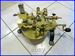 Tour a arrondir watchmaker's lathe torno rélojéro topping machine