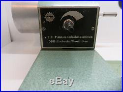 Tour horloger 8 mm Watchmakers lathe 8mm. PRAZIMA Made by ANDRA ZWIKENBERGER
